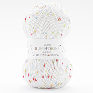 Supersoft Aran Rainbow Drops Ball