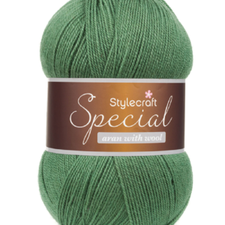 Special Aran With Wool Ball