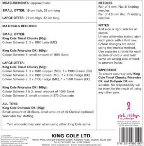 9078 Instructions King Cole