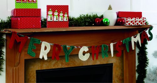 Merry Christmas Letters Garland