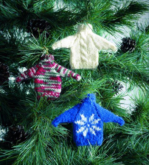 Mini Sweater Decorations