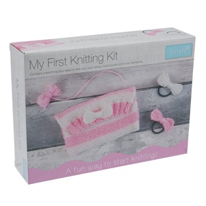 My First Knitting Kit Trimits