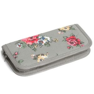 Grey Floral Crochet Case