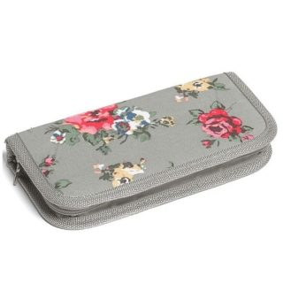 Grey Floral Crochet Case