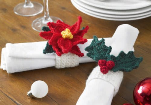 K3898 K3898 Xmas Crochet Book Five P1 24 15 500x349
