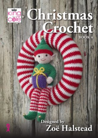 Xmas Crochet Book 4 Front Cover 500x702