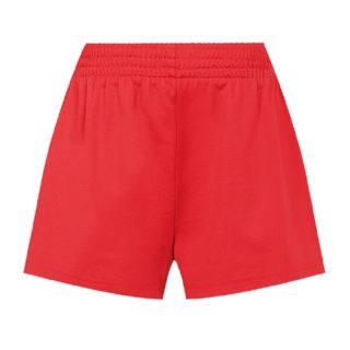 Girls Red Shorts Dl1