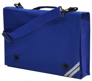 Blue Document Bag