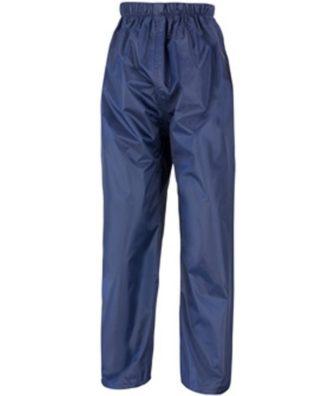Navy Waterproof Trousers