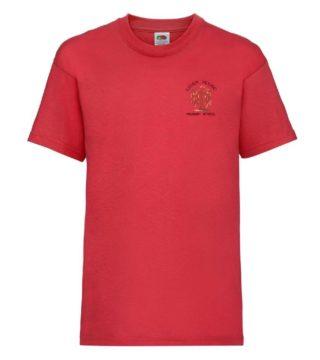 Leverhouse Red Pe Tshirt