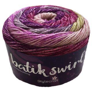 Batik Swirl Ball