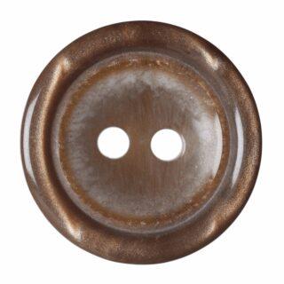 Mid Brown Plain Rimmed
