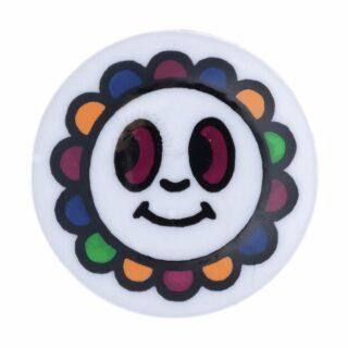Multi Coloured Flower Face