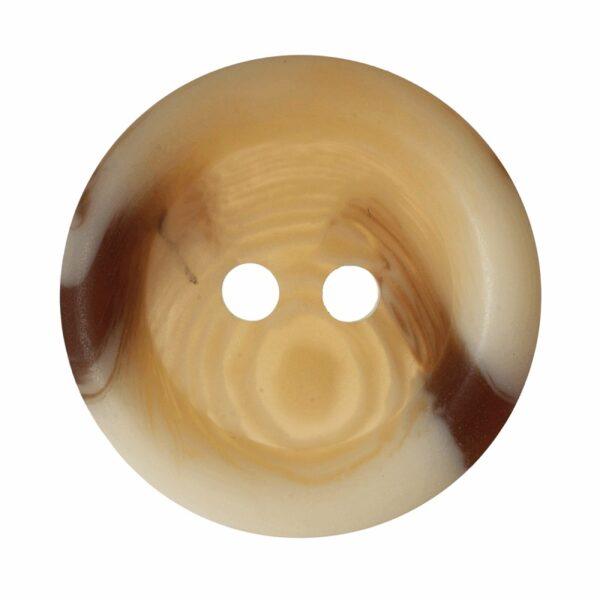 Plain Rimmed Aran Style Button