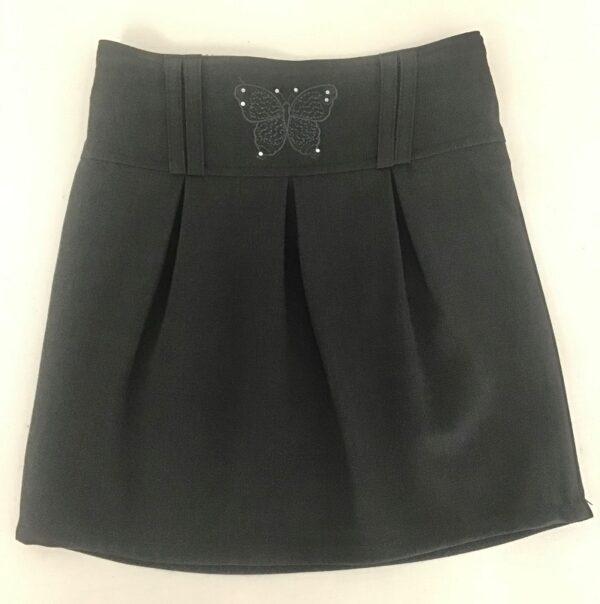 Grey Butterfly Skirt