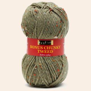 F125 0109 Sage Hayfield Bonus Chunky Tweed